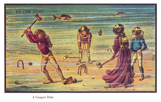 France_in_XXI_Century._Water_croquet